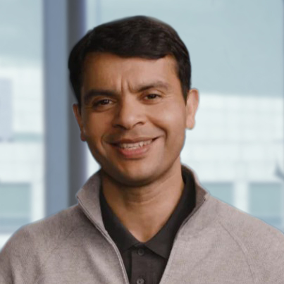 Mohit Aron 2020Profilbild in einem Pullover