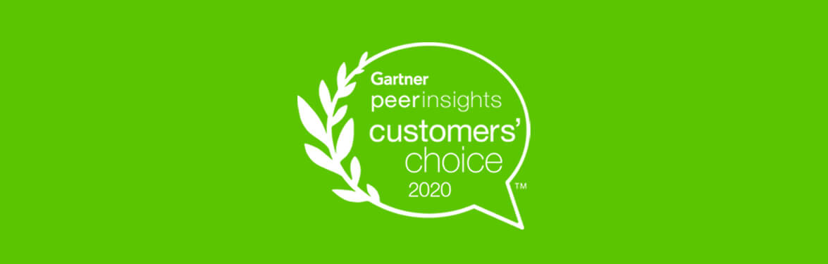 Gartner Voice of the Customer PR banner