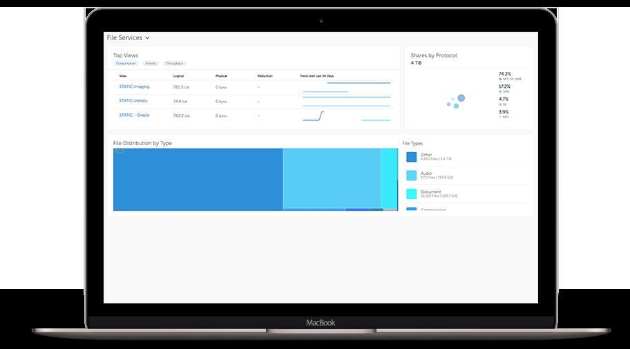 SmartFilesユーザーインターフェース