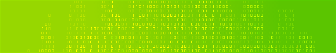 developer blog green banner