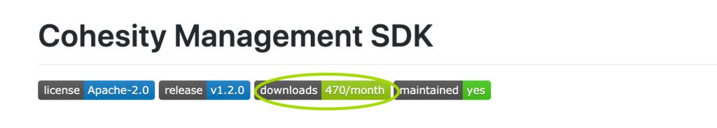Cohesity Management SDK