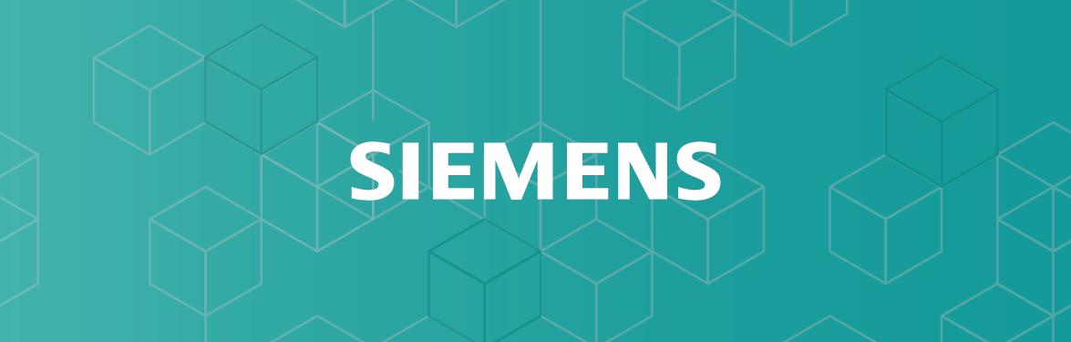 Siemens Customer Win Announcement banner