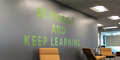Be Humble Keep Learning Thumbnail Careers