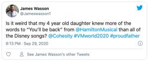 James Wasson Tweet