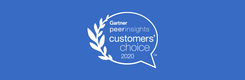 Gartner Peer Insights awards featured hero banner