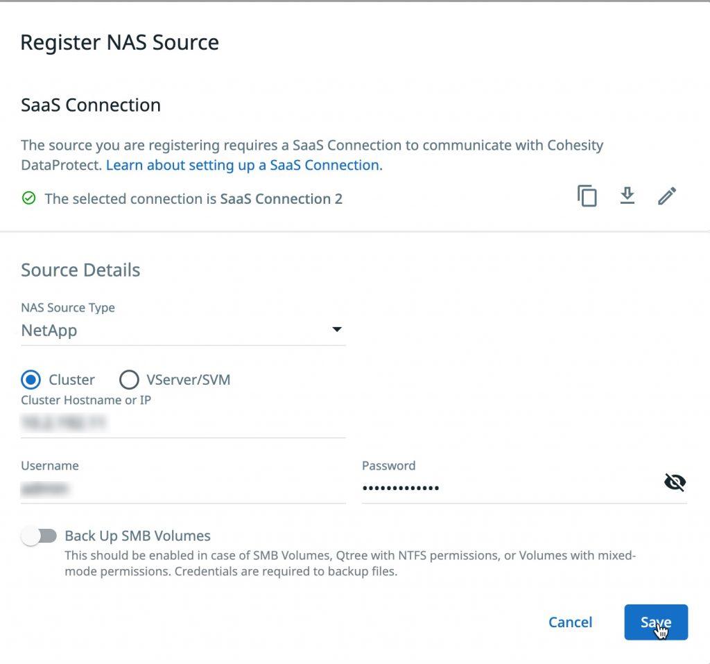 1-dmaas-register-netApp