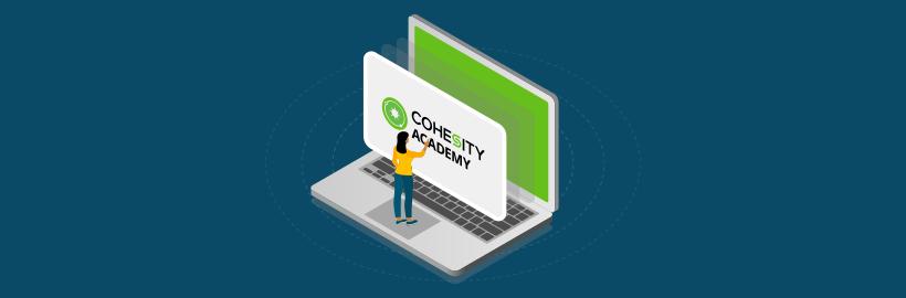 Cohesity Academy featured hero banner
