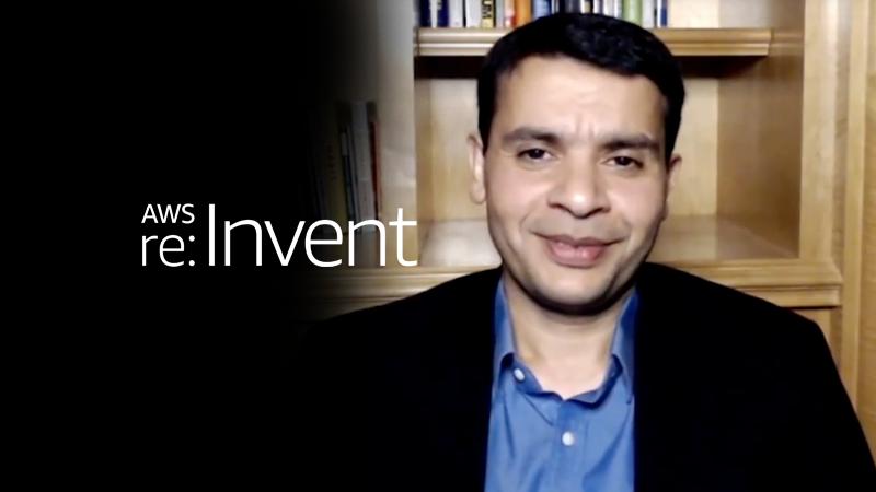 Mohit Aron, AWS reInvent keynote video thumbnail