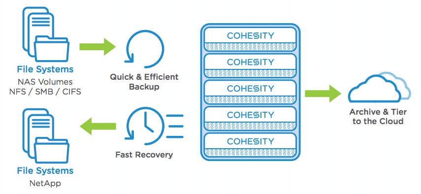 Cohesity-NAS-Diagram