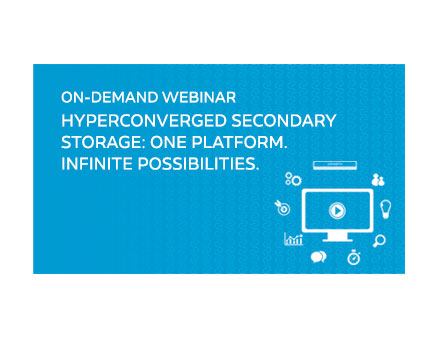 Hyperconverged Secondary Storage: One Platform. Infinite Possibilities.