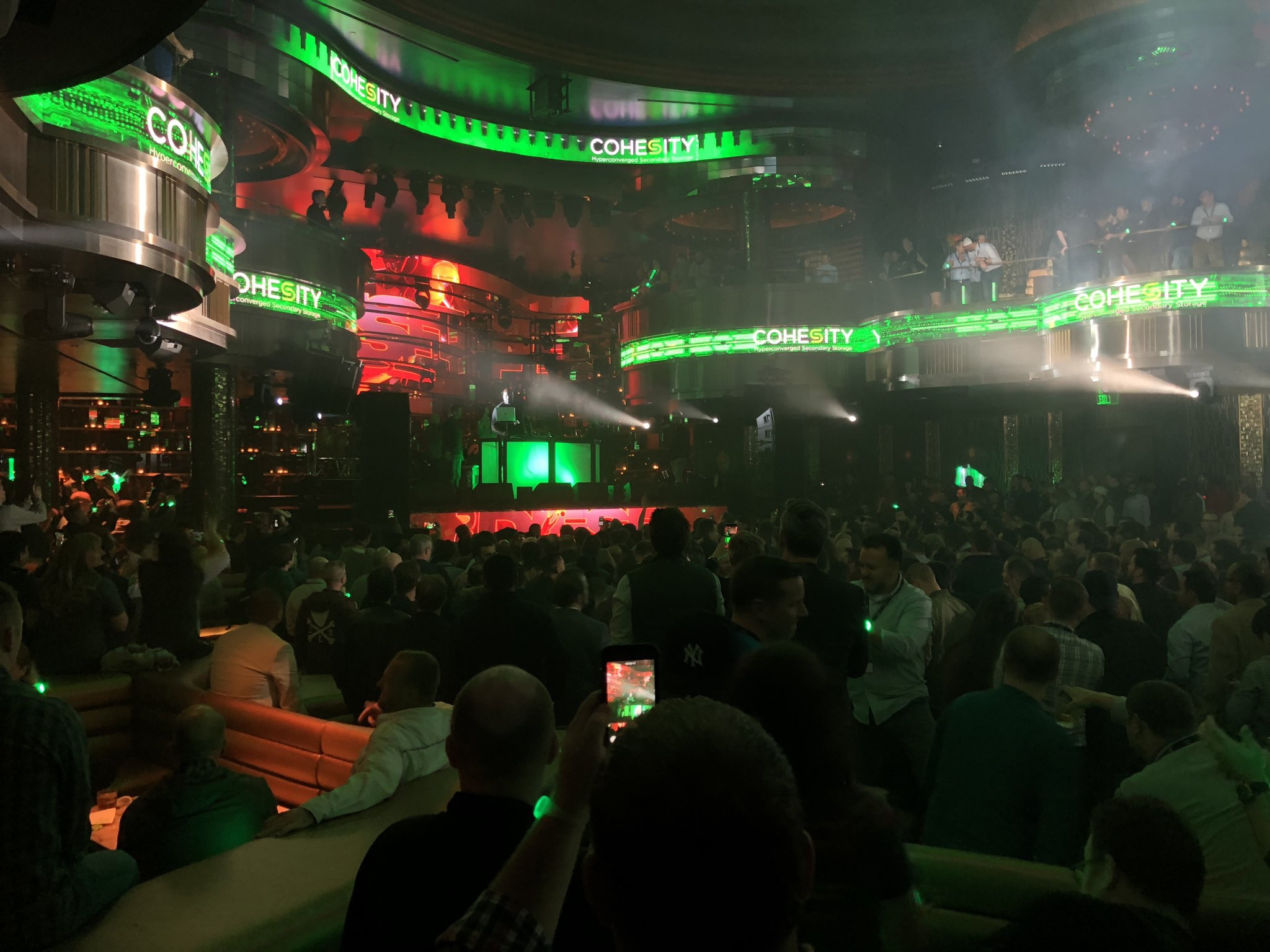 Cohesity at AWS re:Invent 2018: It Was One Big Cloud Fest