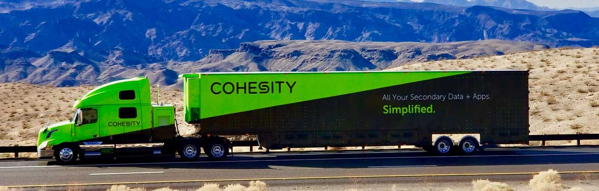 Keep on Truckin': Cohesity Mobile Demo Center Kicks Off Amid Significant Company Expansion