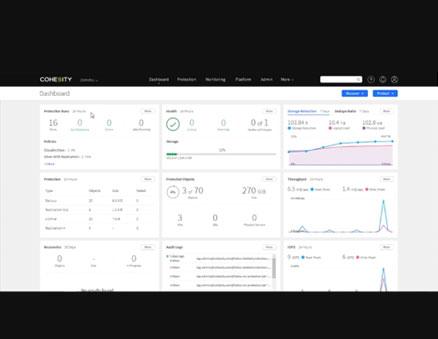 Simplified Secondary Data Management: A Customer POV