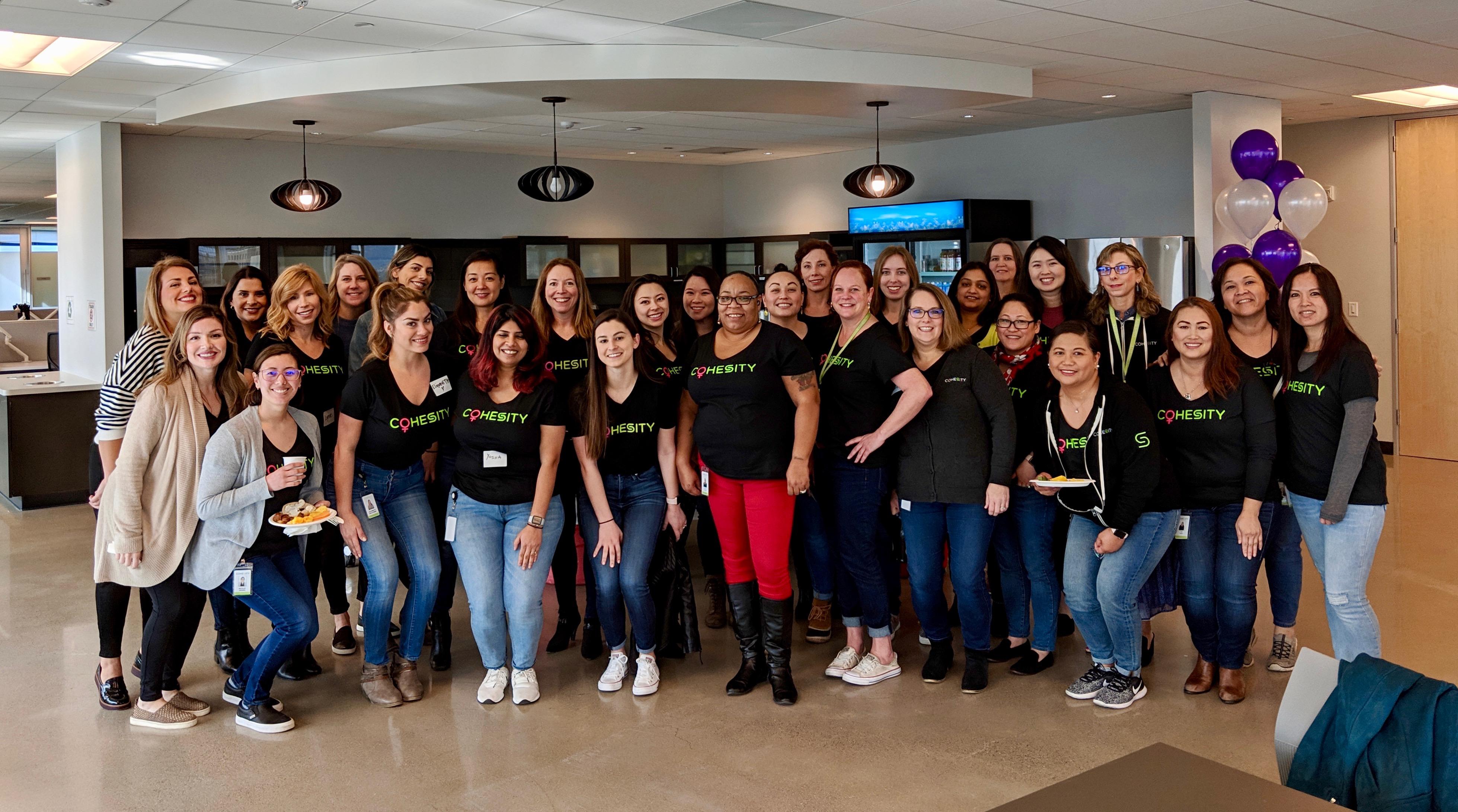 International Women's Day – Celebrating the Women of Cohesity