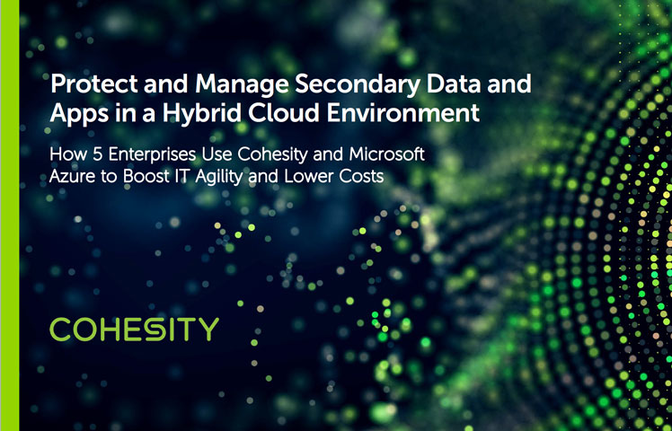 Azure Backup & Recovery Solution   Cohesity