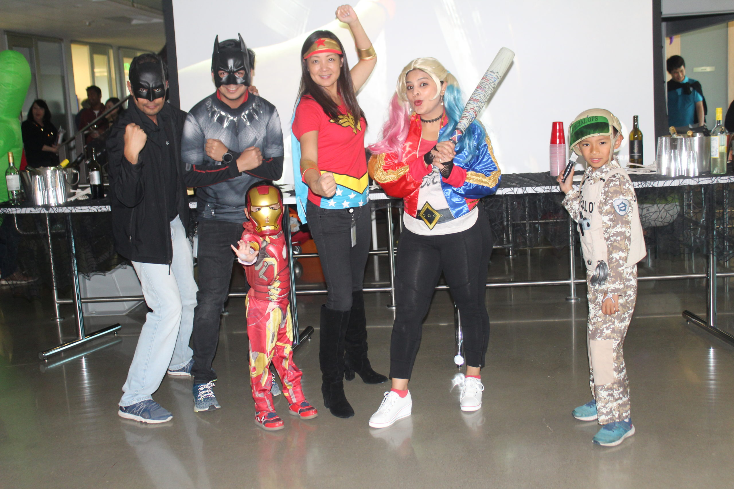 Halloween fun at Cohesity