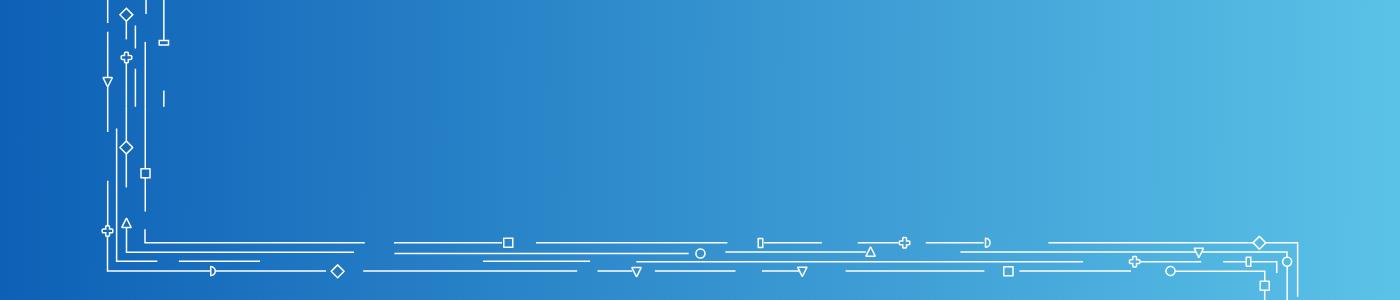 Tip sheet banner - blue