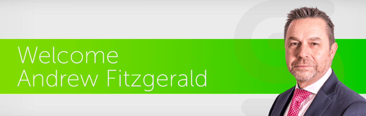 Welcome Andrew Fitzgerald banner