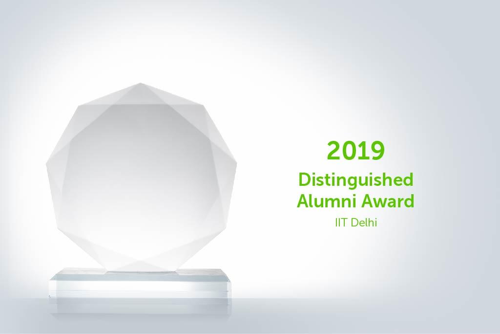 2019 Distinguished Alumni Award