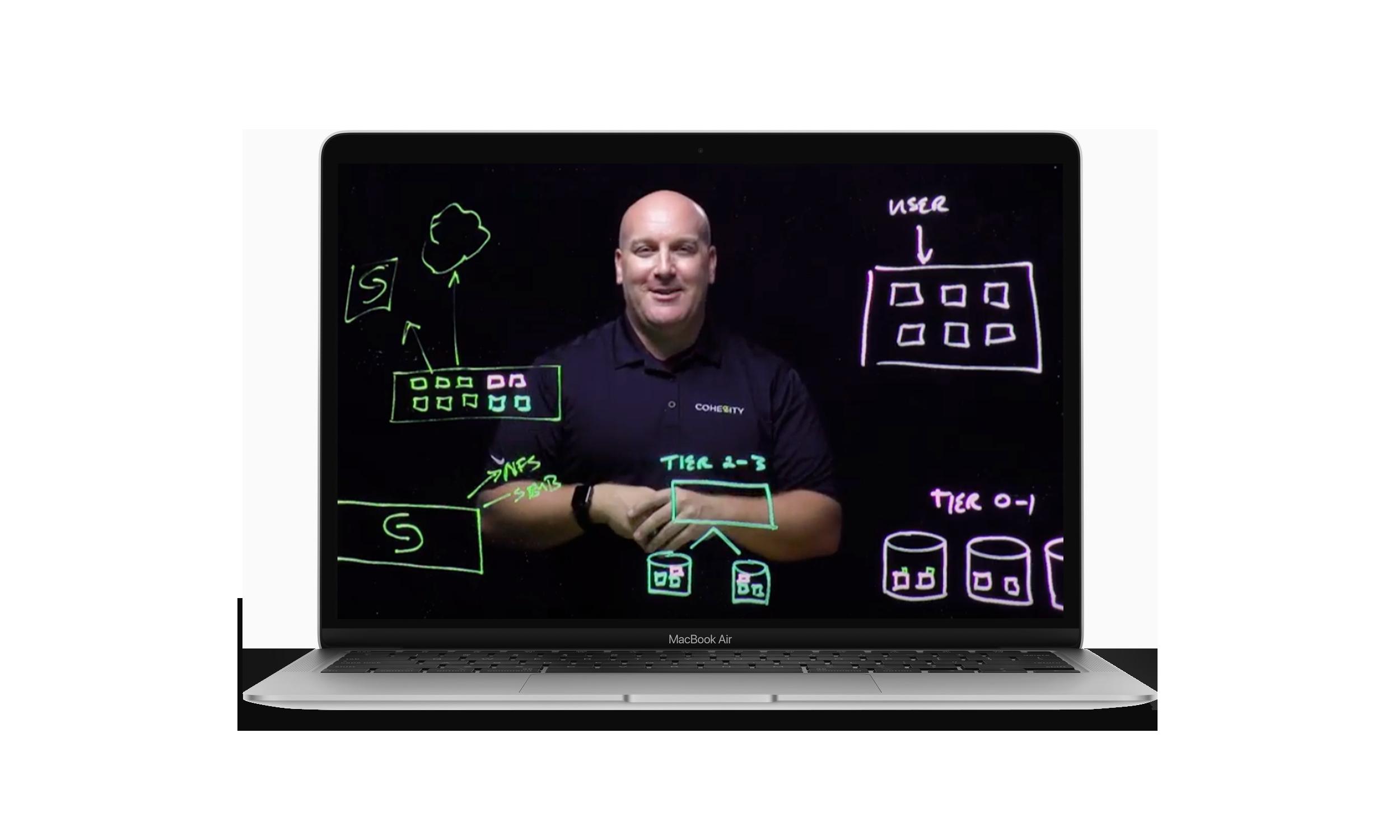 Michael Letschin Lightboard Laptop