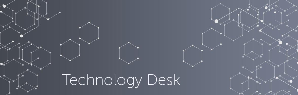 Technology desk banner