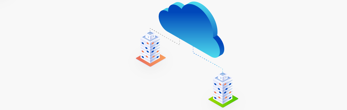 Disaster Recovery Isometric banner
