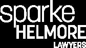 Sparke Helmore white logo
