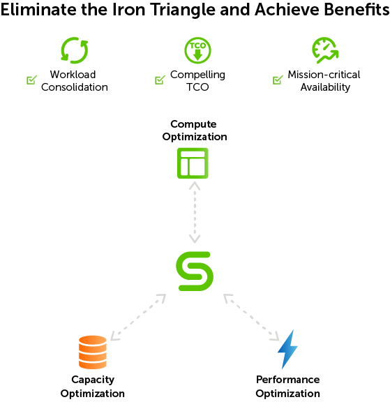 Figure 3: Eliminate the Iron Triangle