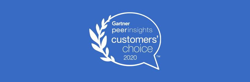 Gartner VoC Peer Insights PR banner